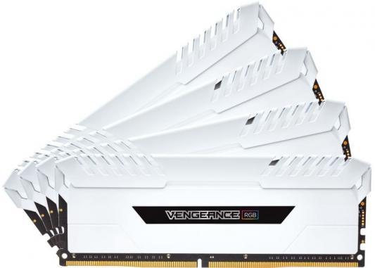 Оперативная память 32Gb (4x8Gb) PC4-24000 3000MHz DDR4 DIMM Corsair CMR32GX4M4C3000C15W оперативная память 128gb 8x16gb pc4 24000 3000mhz ddr4 dimm corsair cmr128gx4m8c3000c16w