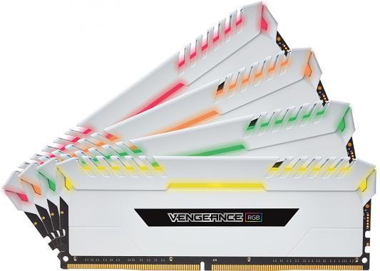 Оперативная память 32Gb (4x8Gb) PC4-24000 3000MHz DDR4 DIMM Corsair CMR32GX4M4C3000C16W оперативная память 128gb 8x16gb pc4 24000 3000mhz ddr4 dimm corsair cmr128gx4m8c3000c16w