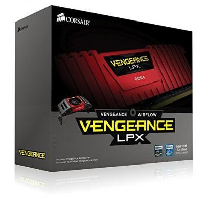 Оперативная память 32Gb (4x8Gb) PC4-29800 3733MHz DDR4 DIMM Corsair CMK32GX4M4B3733C17R
