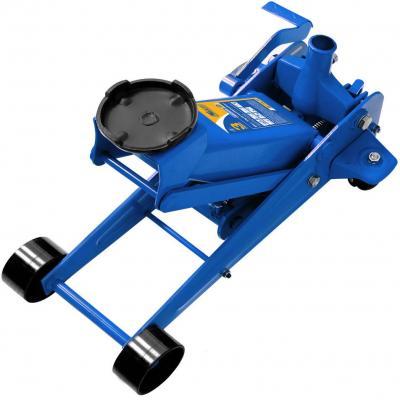 Домкрат KRAFT KT 820004 подкатной гидравлический 3т с педалью
