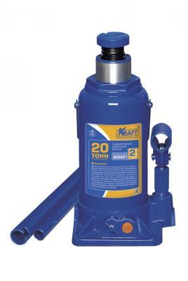 Домкрат KRAFT КТ 800021 бутылочный 20т головка kraft кт 700382