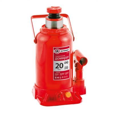 Домкрат AUTOPROFI DG-20 гидравлический бутылочный 20т подъём440мм autoprofi домкрат бутылочный гидравлический autoprofi dg 04