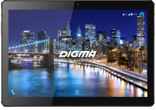 "Планшет Digma CITI 1508 4G 10.1"" 64Gb Black Wi-Fi Bluetooth LTE 3G Android CS1114ML планшет digma citi 1508 4g 10 1"
