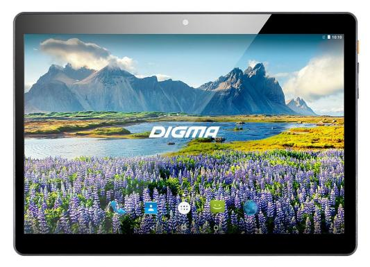 Планшет Digma Plane 9634 3G 9.6 32Gb Black Wi-Fi 3G Bluetooth Android PS9146MG планшет планшет lenovo tab 4 tb 7504x za380087ru mediatek mt8735b 1 3 ghz 2048mb 16gb gps 3g lte wi fi bluetooth cam 7 0 1280x720 android