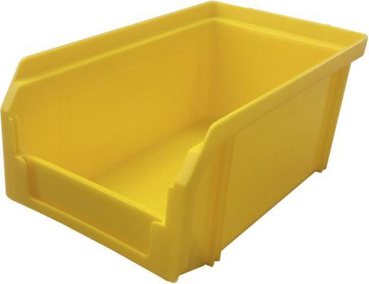 Ящик СТЕЛЛА V-1 литр, желтый  пластик 171х102х75мм