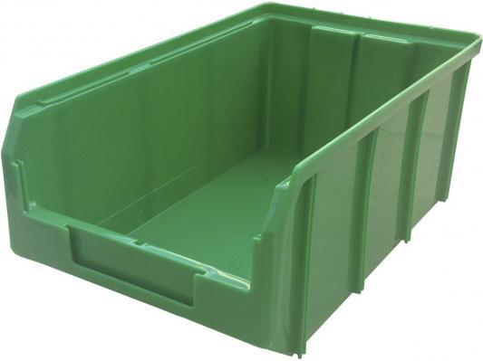 Ящик СТЕЛЛА V-3 9,4 литр, зеленый  пластик 341х207х143мм