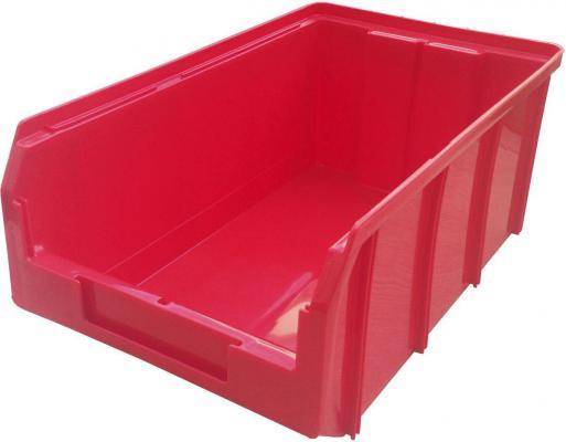 Ящик СТЕЛЛА V-3 9,4 литр, красный  пластик 341х207х143мм