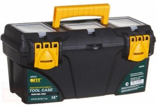 Ящик для инструмента FIT 65562 пластиковый 16 (41 х 21,5 х 19,7 см) ящик для инструмента fit 65562 пластиковый 16 41 х 21 5 х 19 7 см
