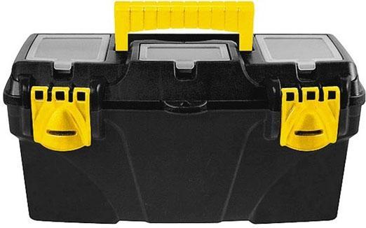 Ящик для инструмента FIT 65564 пластиковый 21 (53 х 27,5 х 29 см) ящик для инструмента fit 65562 пластиковый 16 41 х 21 5 х 19 7 см
