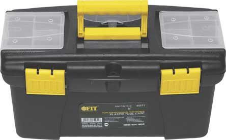 Ящик для инструмента FIT 65571 пластиковый 12 (32 х 17,5 х 16 см) ящик для инструмента с металлическими замками 16 175х210х410мм stels россия 90711