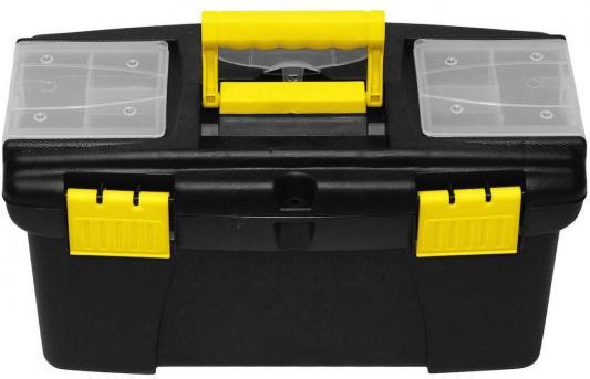 Ящик для инструмента FIT 65574 пластиковый 22 (56,5 х 35,5 х 29 см) ящик для инструмента fit 65562 пластиковый 16 41 х 21 5 х 19 7 см