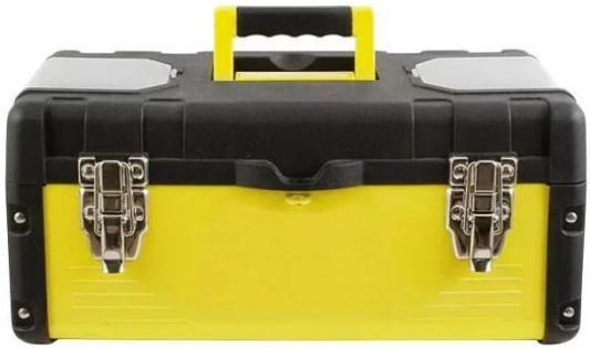 Ящик для инструмента FIT 65592 18 (45 х 24 х 20 см), металл.замки, стенки стальные ящик для крепежа fit 27 х 21 х 8 см