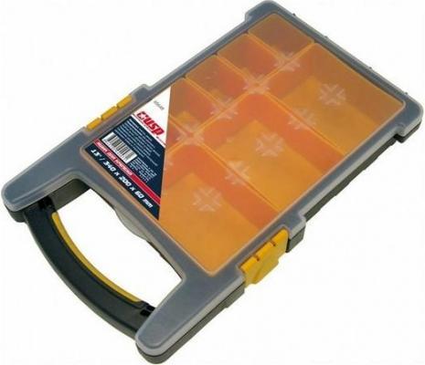 Ящик FIT 65648  для крепежа (органайзер) 13 (34х20х6 см) (съемные ячейки)