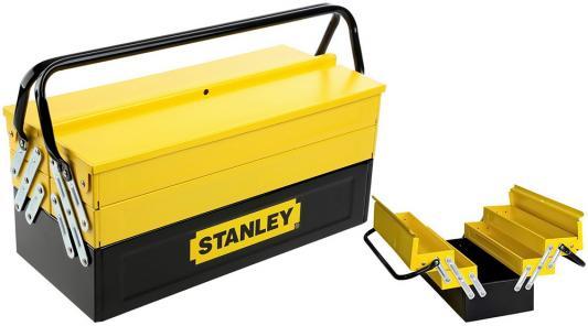 Ящик для инструментов STANLEY Expert Cantilever 1-94-738 с 5-тью раскладными секциями металлический комплект инструментов stanley 86 6 3mmx12 5mm 94 190 22
