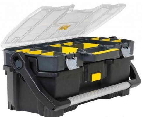 Ящик STANLEY 1-97-514 со съемным органайзером 24 67x32.3x25.1см ящик для инструментов stanley 1 97 506