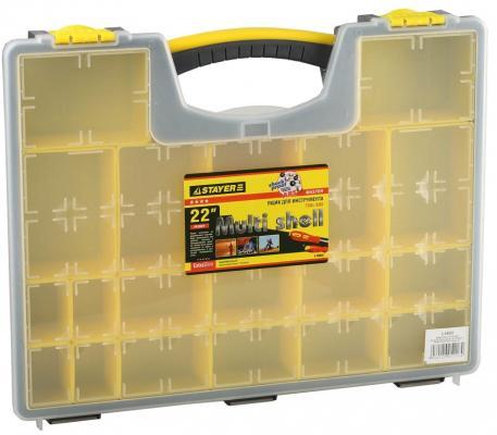 Ящик STAYER 2-38032 multyshel пластмассовый для инструмента 22