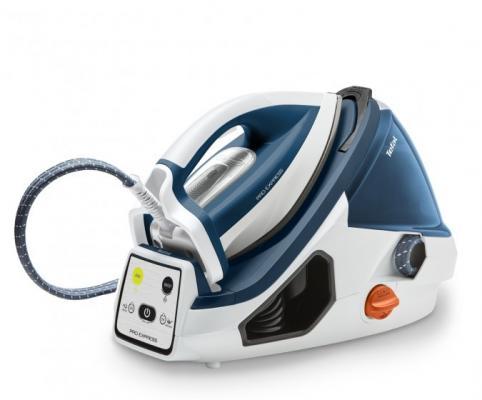 Парогенератор Tefal Pro Express GV7830 2400Вт белый синий GV7830E0 цена