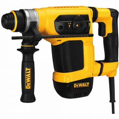 Перфоратор DEWALT D 25413 K 1000Вт SDS+ 3реж 4.2Дж 0-4700уд/мин 4.2кг кейс перфоратор dewalt d 25133 k ks sds plus 800вт