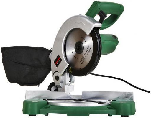 Пила торцовочная (стусло) Hammer Flex STL800 800Вт 5000об/мин диск190*20мм гл.пропила 48мм пила hammer crp1800d flex