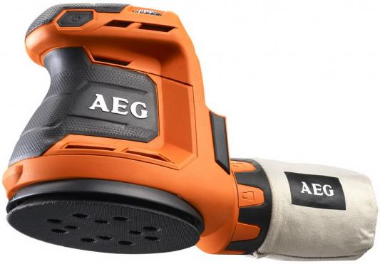 Машинка шлифовальная орбитальная (эксцентриковая) AEG 451086(BEX18-125-0) аккум. 18В Li-ion ф125мм аккумулятор aeg 18в 3aч li ion l1830r 4932352655