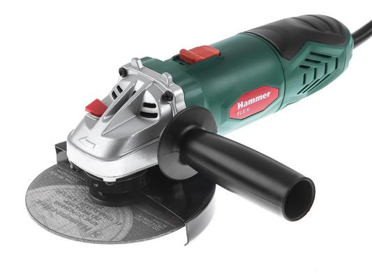 Углошлифовальная машина Hammer Flex USM650LE 125 мм 650 Вт 159-031 углошлифовальная машина hammer flex usm600a 125 мм 600 вт 159 016