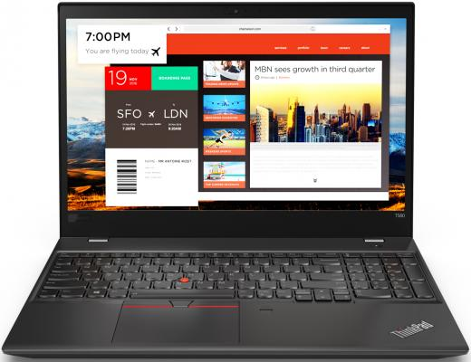 Ноутбук Lenovo ThinkPad T580 (20L90025RT) цена и фото