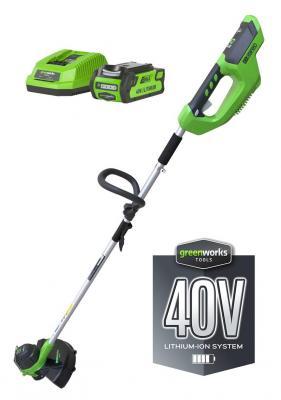 Триммер Greenworks G-max G40LT 2101507UA триммер аккумуляторный greenworks g40lt30 2101507ua