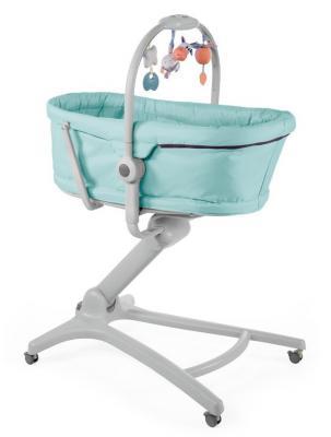 Купить Колыбель Chicco Baby Hug 4-в-1 (aquarelle/8058664092178), голубой, пластик, Стульчики для кормления
