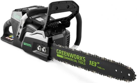 Профессиональная аккумуляторная цепная пила Greenworks 82V ранцевая воздуходувка аккумуляторная greenworks 82v 2401207