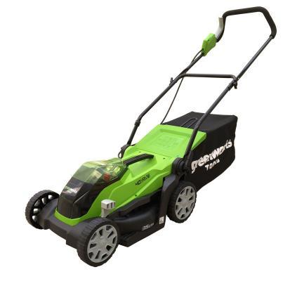 Картинка для колесная газонокосилка / триммер Greenworks G-max G40LM35K2 2501907UA