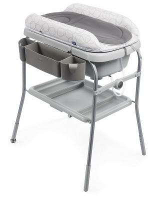 Стол пеленальный с ванночкой Chicco Cuddle & Bubble Comfort (sage)