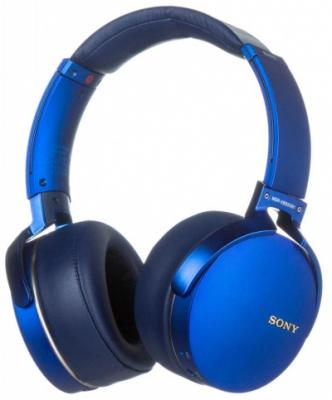 Наушники SONY MDR-XB950B1 синий