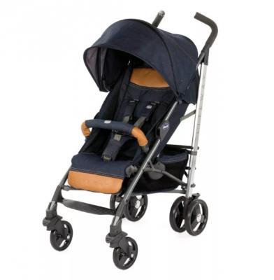 Коляска-трость с бампером Chicco Lite Way 3 Top (denim) коляска трость с бампером chicco lite way top stroller s d denim