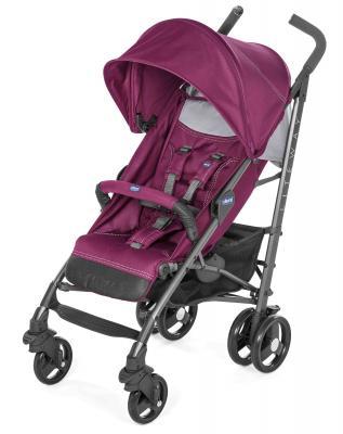 Коляска-трость с бампером Chicco Lite Way 3 Top (red plum) коляска трость с бампером chicco lite way top stroller s d denim