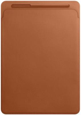 Чехол Apple Leather Sleeve для iPad Pro 12.9 золотисто-коричневый MQ0Q2ZM/A чехол apple leather sleeve для ipad pro 12 9 синий mq0t2zm a