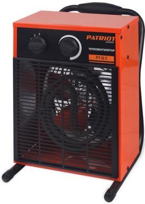 цена на Тепловая пушка Patriot PT-Q 3 3000 Вт Антикоррозийное покрытие Ручка для перемещения Автоотключение оранжевый