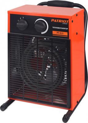 Тепловая пушка Patriot PT-Q 5 4200 Вт ТЭН Ручка для перемещения Автоотключение Антикоррозийное покрытие оранжевый все цены