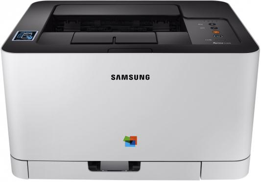 Принтер HP Samsung Xpress SL-C430W SS230M цветной A4 18ppm 2400x600dpi 64Mb Ethernet USB Wi-Fi