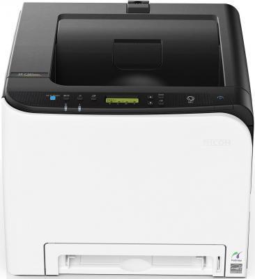 Фото - Принтер Ricoh SP C261DNw цветной A4 20ppm 2400x600dpi RJ-45 Wi-Fi USB 408236 принтер ricoh sp 6430dn белый