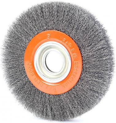 Щетка EDGE by PATRIOT круглая для точила 175ммХ32/30/25,4/20/16мм щетка edge by patriot чашеобразная 60ммхм14 гофрированная проволока
