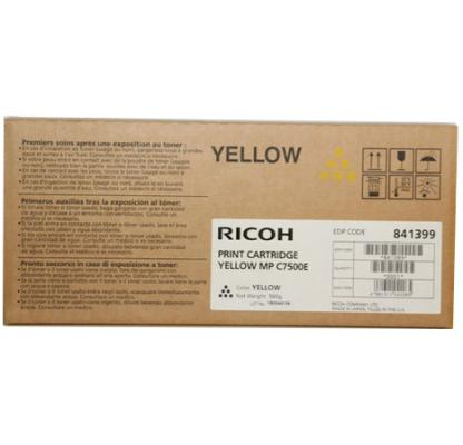 Картридж Ricoh MP C7500E для Ricoh Aficio MP C6000/C7500 желтый 21600стр 841399 842070 картридж ricoh mp c7500 для ricoh aficio mp c6000 ricoh aficio mp c7500 пурпурный 842071