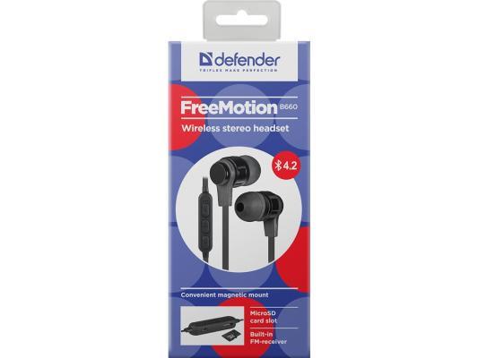 все цены на Гарнитура Defender FreeMotion B670 черный