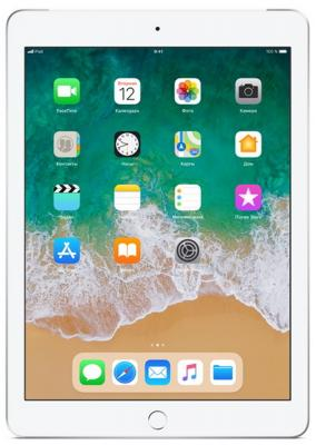 Планшет Apple iPad 9.7 32Gb Silver Wi-Fi Bluetooth iOS MR7G2RU/A планшет apple ipad 9 7 32gb серебристый wi fi bluetooth ios mp2g2ru a