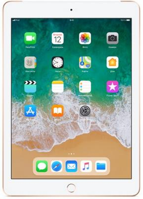 Планшет Apple iPad 9.7 128Gb Gold Wi-Fi Bluetooth iOS MRJP2RU/A планшет apple ipad 9 7 32gb серебристый wi fi bluetooth ios mp2g2ru a