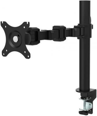 "Кронштейн Kron D121E Черный для мониторов 10""-32"" поворот max 10 кг кронштейн kron d421e черный"