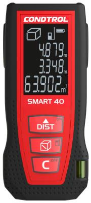 Дальномер CONDTROL SMART 40 лазерный ± 1.5мм 2хААА цена в Москве и Питере