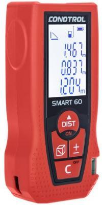 Дальномер CONDTROL SMART 60 лазерный ± 1.5мм 2хААА цена в Москве и Питере