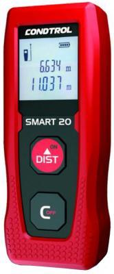 Лазерный дальномер CONDTROL Smart 20 20м точность 3мм/м дальномер лазерный condtrol x1 lite 30м