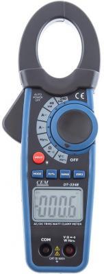 Клещи CEM DT-3348 электроизмерительные ваттметр клещи cem dt 9809