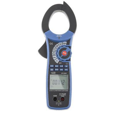 Клещи токовые CEM DT-3352 проф. для измерения пост./перем. тока и мощности токовые клещи ресанта dt 266c